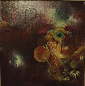 """Untitled"" by Tiina Lilja (2006) mixed media on canvas (50x70cm)"