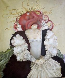 Queen of Kalmar painting