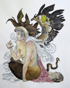 Sphinx vol. 2 illustration