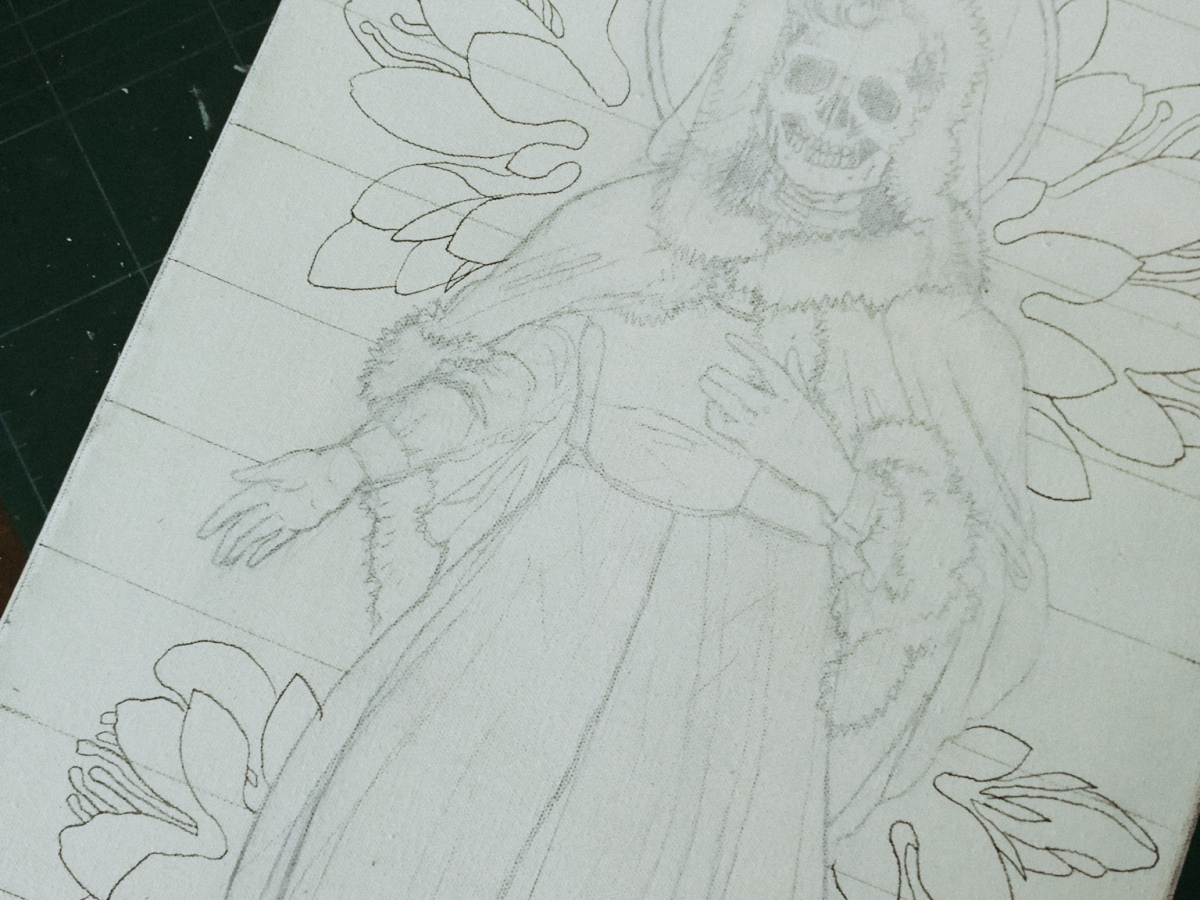 Santa Muerte - work in progress