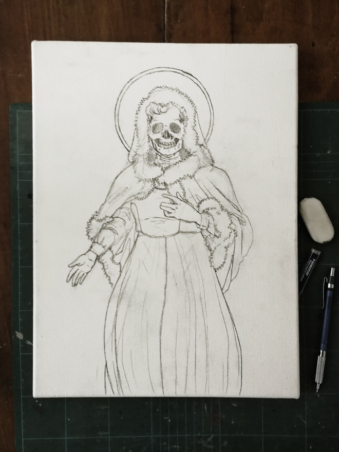 Santa Muerte - work in progress