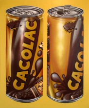 """""""Cacolac"""" by Tiina Lilja (2015) oil on canvas (60x70cm)"""