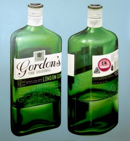 """Gordon's Gin"" by Tiina Lilja (2012) 110x120cm"