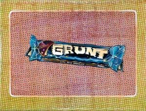 """Grunt Boost"" by Tiina Lilja (2015) mixed media on canvas (21x29cm)"