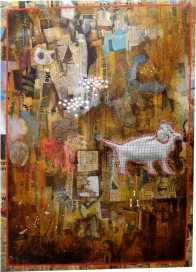 """So Far"" by Tiina Lilja (2010) mixed media (90x70cm)"