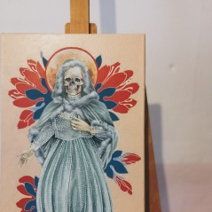 Santa Muerte by Tiina Lilja - work in progress