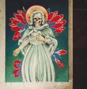 Santa Muerte by Tiina Lilja - work in progress