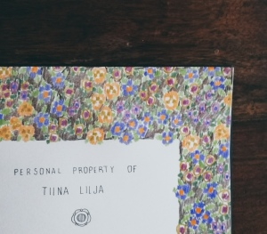sketchbook number 23 by Tiina Lilja - detail