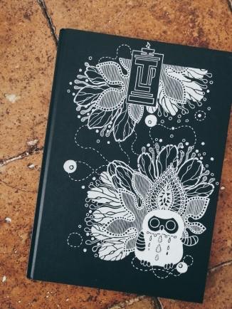 sketchbook number 23 by Tiina Lilja - cover art