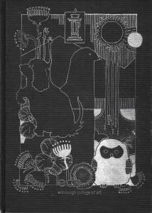 sketchbook cover art by Tiina Lilja