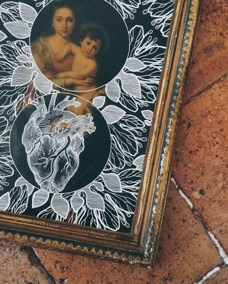 Lilium Candidum by Tiina Lilja - work in progress