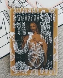 Corpus Christi by Tiina Lilja 2019, mixed media on paper