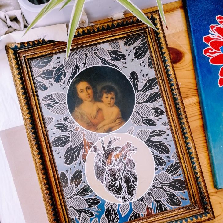 Lilium Candidum painting by Tiina Lilja 2019