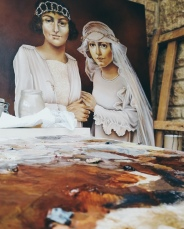 Two Brides by Tiina Lilja - work in progress