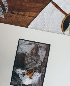 Double Exposure by Tiina Lilja (2019) mixed media on paper