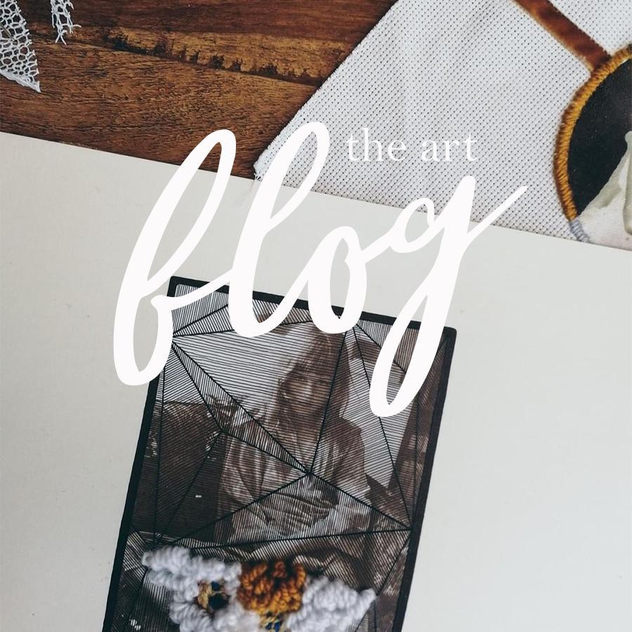 the art blog header